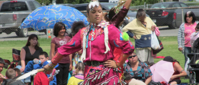 Dancers from the Nicola Tribal Council