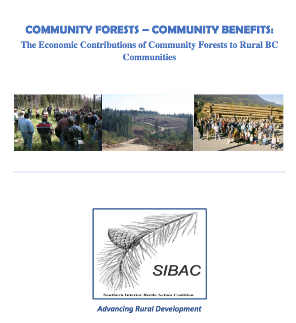 Community Forests — Community Benefits