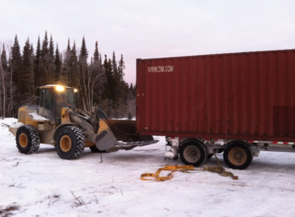 Garden Hill First Nation used shipping containers