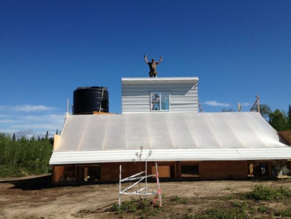 Garden Hill First Nation farm has a penthouse!