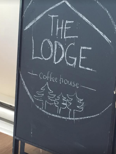 Cafe culture at the Lodge