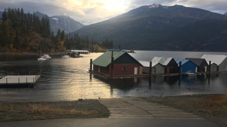 Escape the City to Kaslo