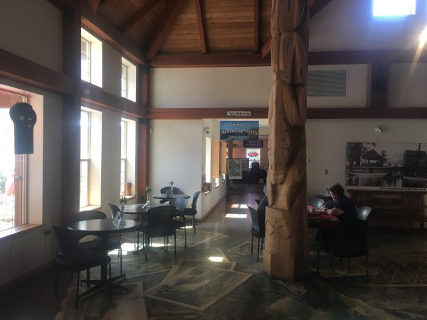 Christina Lake has a beautiful Visitor's Centre