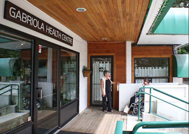 Gabriola Island is home to an excellent health centre