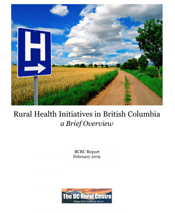 Rural Health Initiatives in BC | BC Rural Centre Rural health