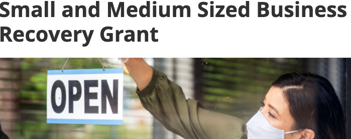 BC business recovery grant