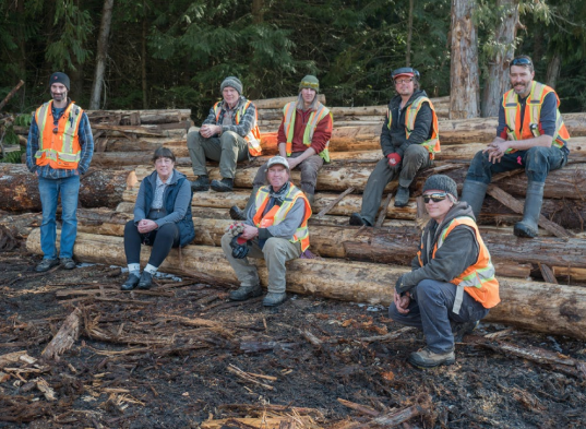 BC community forest micro sawmills